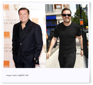 Celebrity Weight Loss Ricky Gervais